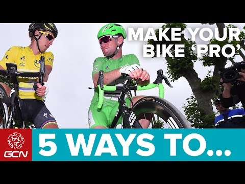 5 Ways To Make Your Bike More 'Pro'