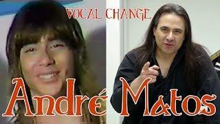 ANDRE MATOS VOCAL CHANGE (1985 - 2017) [Eng - Esp] (Live) YouTube Videos