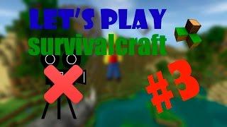 let's play по survivalcraft #3 видео которое я не хотел выкладывать