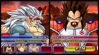 FAMÍLIA GOKU vs FAMÍLIA VEGETA!! Dragon Ball Z Budokai Tenkaichi AF (VERY HARD)