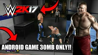 (REAL) / (IN ONLY 30 MB) HOW TO DOWNLOAD ||WWE2K17 APK+OBB ON ANDROID!! /ANDROID