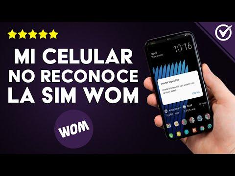 Mi Teléfono NO Reconoce el Chip/SIM WOM