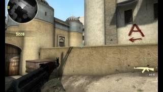 Прострелы на de_dust2 в CS:GO