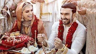 First Pics Of Ranveer Singh Deepika Padukone's Royal MARRIAGE In Italy On14 & 15th Nov 2018