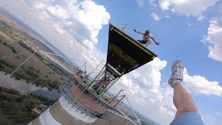 Dream Jump Głogów 222m - Skok z komina