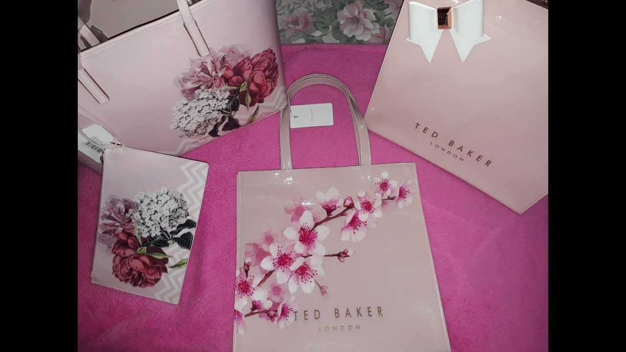 ae8ea8b8d Bags - Unboxing Ted Baker - YouTube