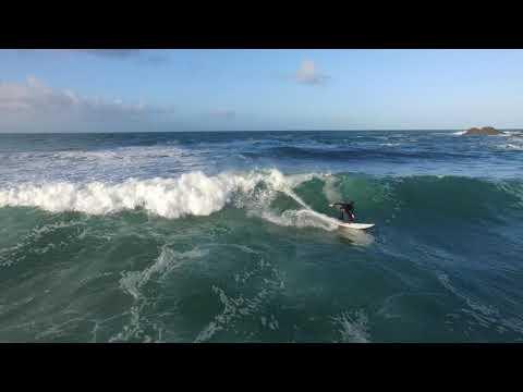 Surfer à quiberon