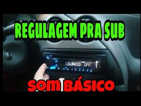 REGULAR RADIO PIONEER PRA SUB(GRAVE)-SEM CROSSOVER/PROCESSADOR (SOM BÁSICO)