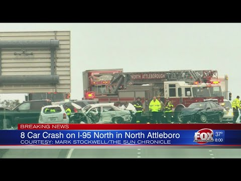 Multi-vehicle crash on I-95 N in North Attleboro