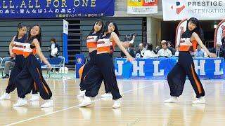 【4K60P】ORANGEPURE「オランジェピュール(アランマーレハンドボールチーム公認ダンスユニット) 」ORANGEROAD 第44回 日本ハンドボールリーグ富山大会 2020/2/9