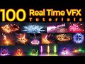 Gambar cover 100 Real Time VFX Tutorials |Unreal Engine Niagara Tutorial | Ue4 Tutorials | Download Project Files