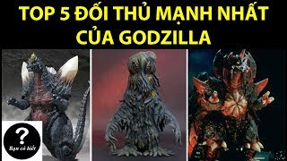 Top 5 Godzilla Strongest Enemies, Fact #18 -- Did You Know?