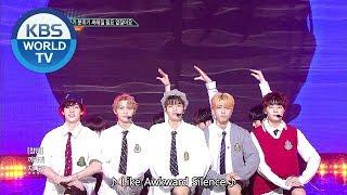 Stray Kids - Awkward Silence (갑자기 분위기 싸해질 필요 없잖아요) [Music Bank / 2018.08.31]