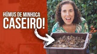 Como Fazer seu Próprio Húmus de Minhoca
