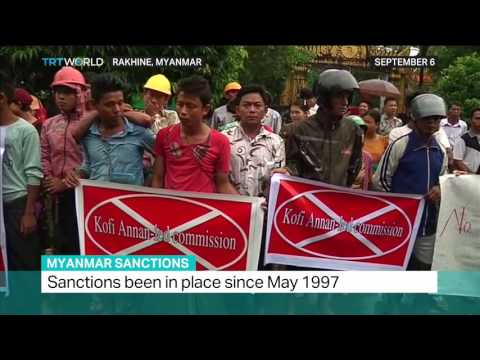 Myanmar Sanctions: Interview with author Azeem Ibrahim on US sanctions on Myanmar