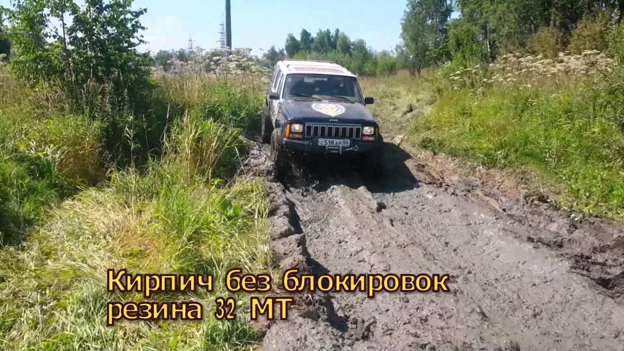 Тест Самоблока НИРФИ, Jeep Cherokee. SsangYong Korando