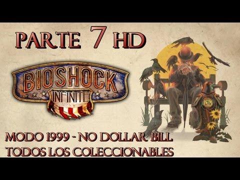 Bioshock Infinite Parte 7 Todos los Coleccionables-Guía paso a paso en HD-Modo 1999-Español