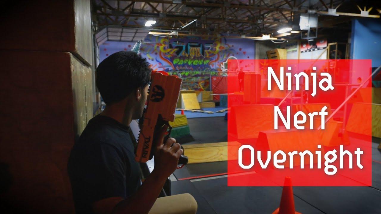 Parkour Nerf: Ninja Nerf Night @ SPF Parkour Academy