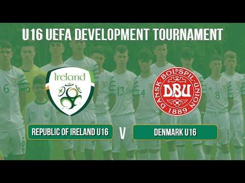 Highlights: Republic of Ireland U16 3-4 Denmark U16