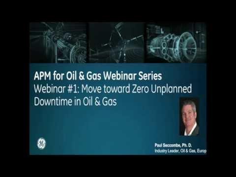 Move Toward Zero Unplanned Downtime in Oil and Gas