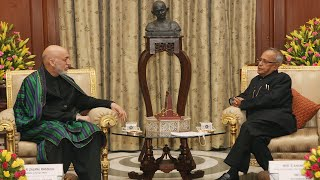 President of the Islamic Republic of Afghanistan calling on the President - 12-11-12
