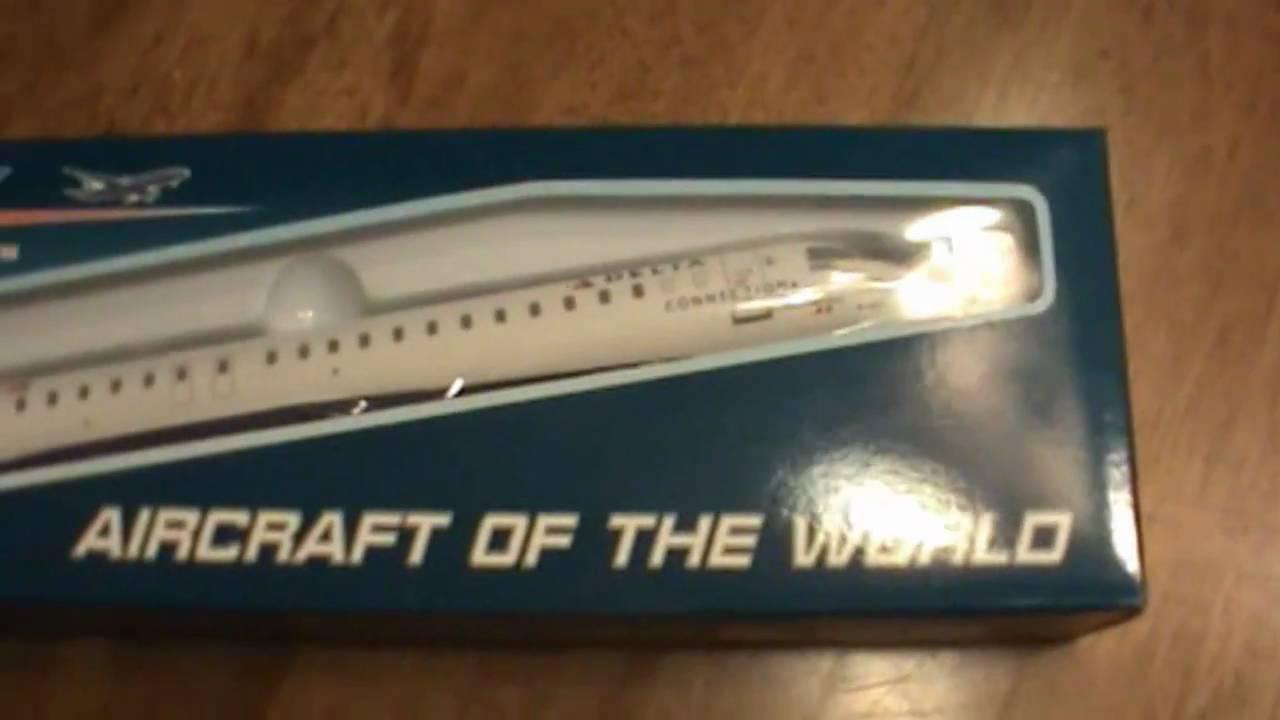 Unboxing Skymarks Models Crj 900 Delta Airlines Youtube