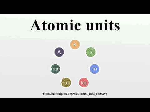 Atomic units