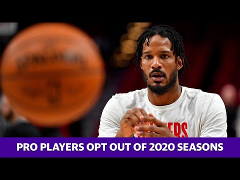Several professional athletes opt out of 2020 seasons