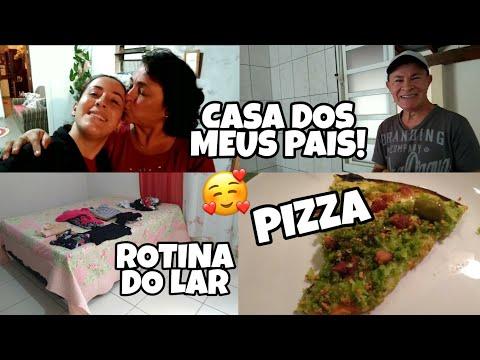 ROTINA do lar, casa dos meus PAIS, PIZZA com os AMIGOS! Tati Barbosa thumbnail