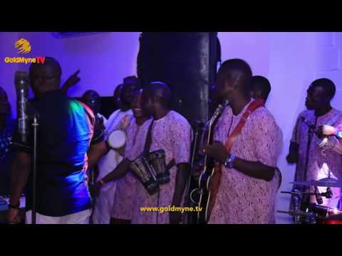 K1 AT THE OPENING OF SIDEWALK LOUNGE IN LAGOS