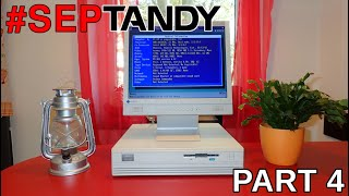 #SepTandy with Tandy 1000 RSX (Part 4): hardware upgrades