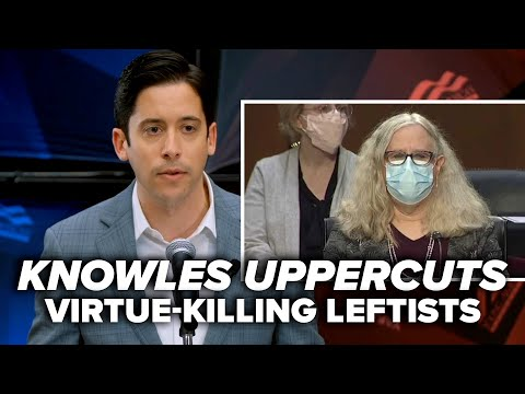 WE, THE SCIENTISTS: Knowles uppercuts virtue-killing leftists