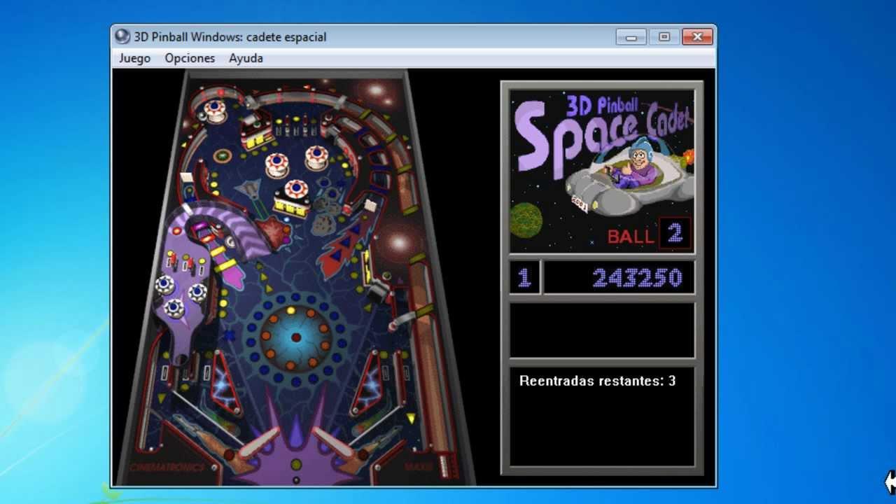 Como Descargar Y Jugar El Pinball Space Cadet Para Windows 7 Vista
