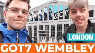GOT7 First London show in Wembley   Vlog