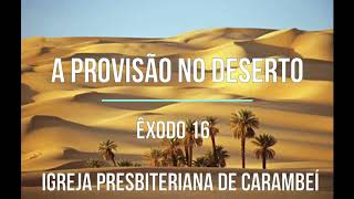 A PROVISÃO NO DESERTO
