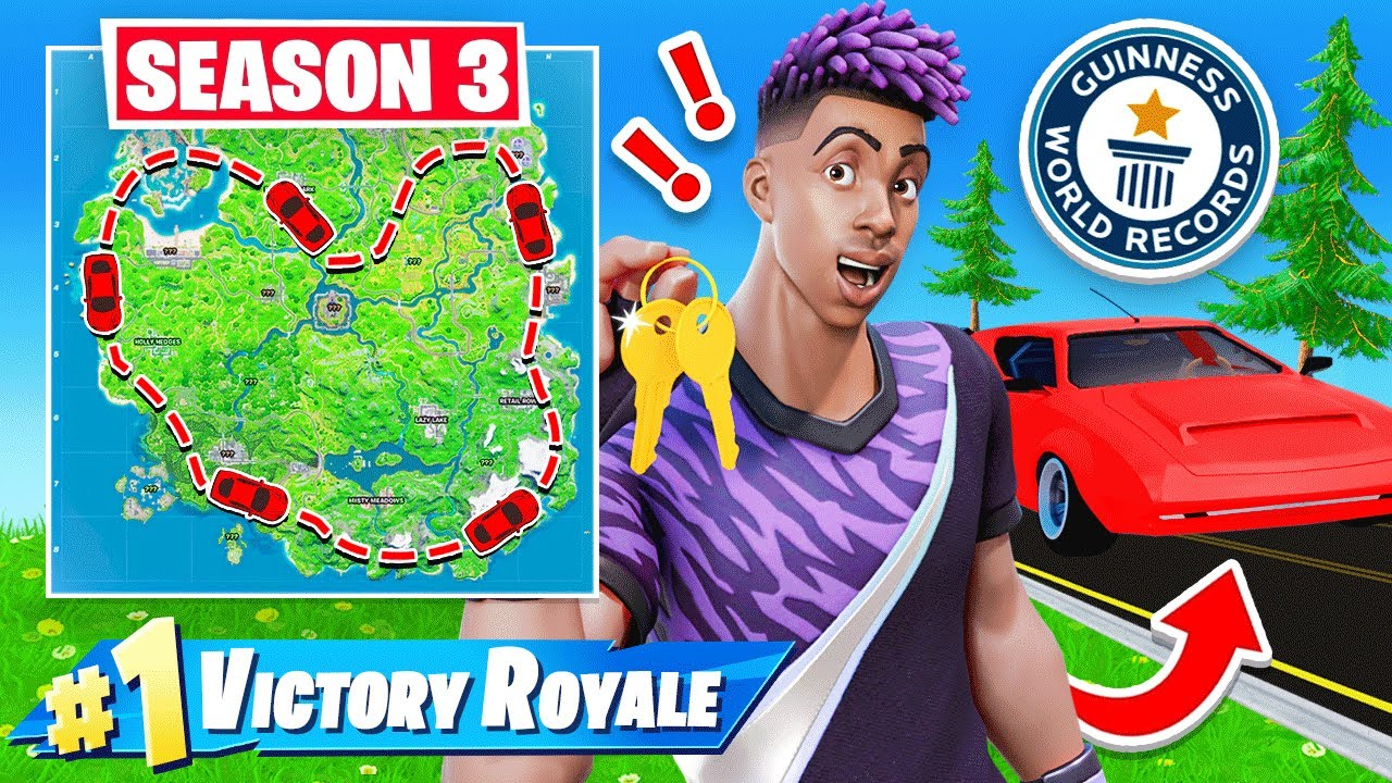 WORLD RECORD! Race Around Map and WIN! (not clickbait)