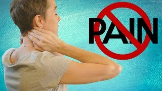 Neck & Shoulder Pain Relief at Your Desk! Fast Stretch & Self Massage Tips with Jade