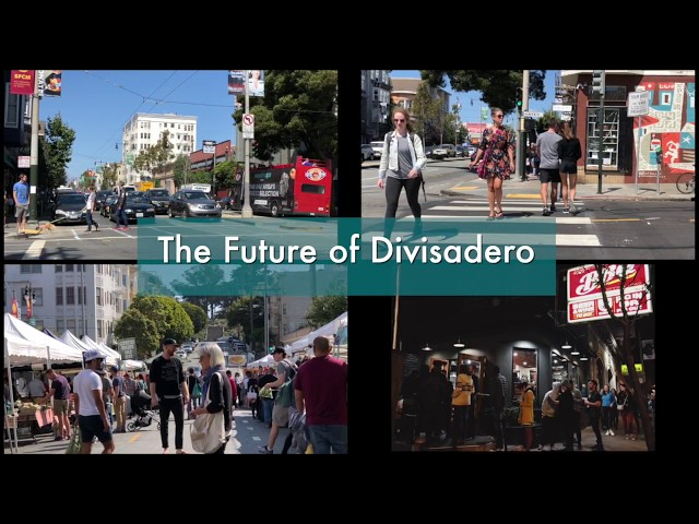 The Future of Divisadero  - Homes Not Cars