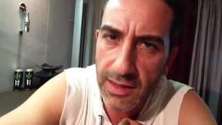 """""""ITALIANI"""" (Mediatv), Matteo Viviani delle """"IENE"""" (Italia 1) per Comicsxafrica 2014"""