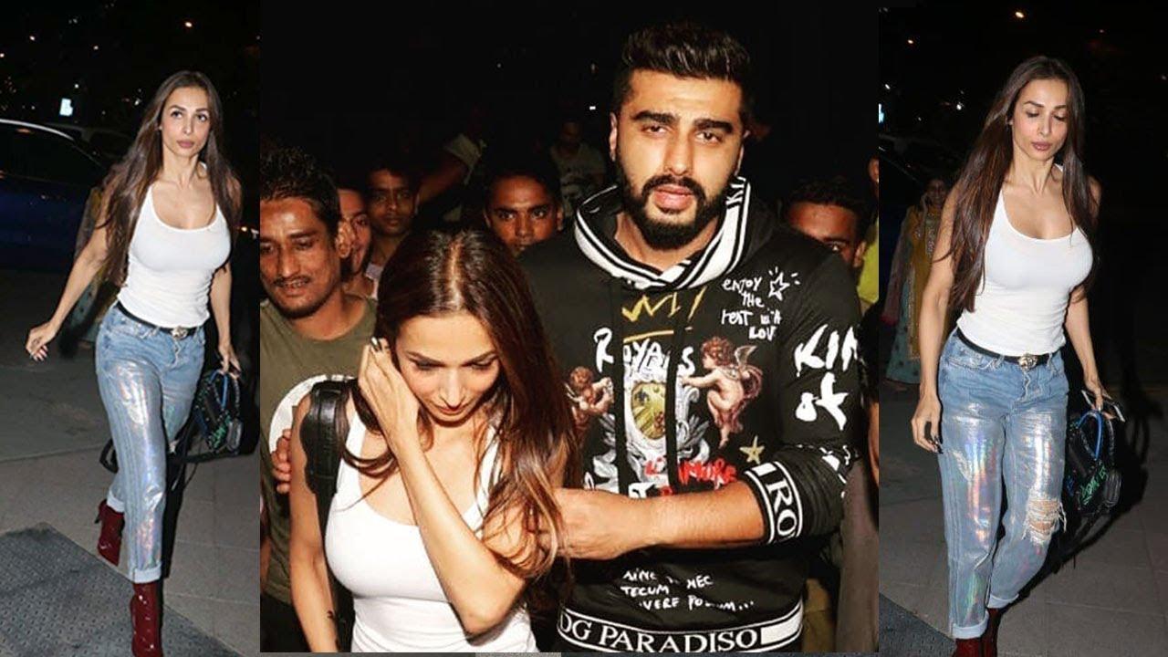 Arjun Kapoor & Girlfriend Malaika Arora OPENLY Show Their ...