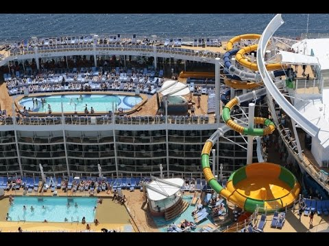 Harmony Of The Seas Video Worlds Largest Cruise Ship Youtube