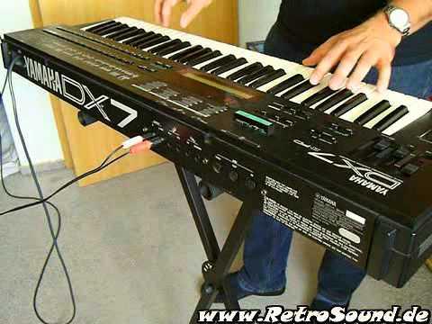 """YAMAHA DX7 II FM Synthesizer """"Ambient DX"""" - YouTube"""