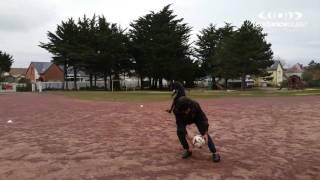 Manche : les migrants de Saint-Germain-sur-Ay préparent le match de foot du 10 décembre 2016