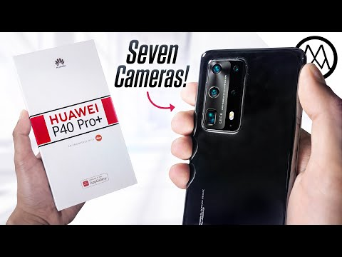 Huawei P40 Pro+ Unboxing - The 7 Camera Beast.