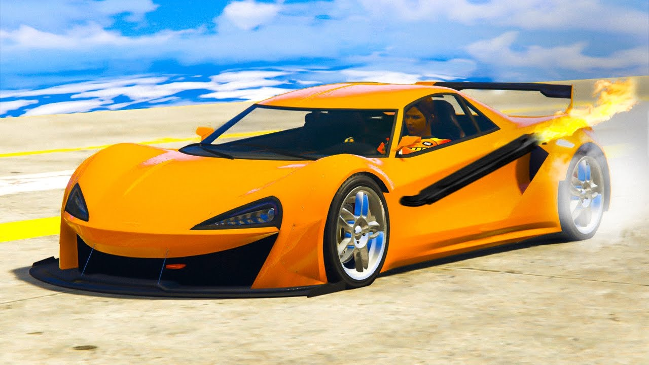 Car Brands Starting With T >> BRAND NEW SUPER FAST $1,500,000 CAR! (GTA 5 Funny Moments) - YouTube