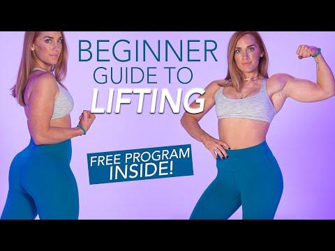BEGINNER GYM GUIDE | Learn how to lift + Free Program Inside!