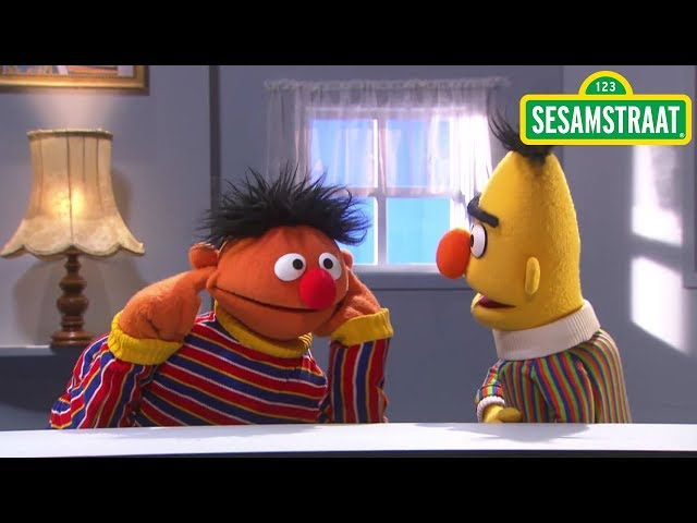 Harde en zachte geluiden - Bert & Ernie - Sesamstraat