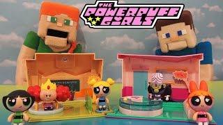 PowerPuff Girls Playsets & Figures Packs Mojo Jojo Princess Morbucks School Jewelry store Unboxing