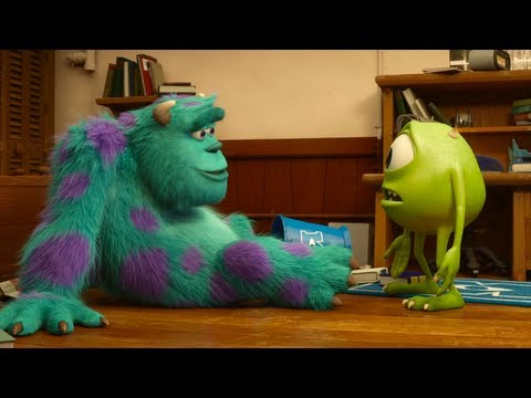Monsters University Official Full Trailer With Extended Teasers and Viral Video