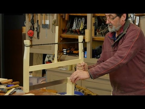 Making the Frame Saw | Paul Sellers